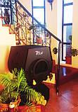 Отопительная конвекционная печь Rud Pyrotron Кантри 01 с варочной поверхностью (для помещения 80 кв.м.), фото 2