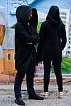 Теплая мантия флис мужская, кардиган, кофта теплая, накидка от производителя Arvisa, фото 3