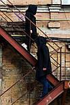 Теплая мантия флис мужская, кардиган, кофта теплая, накидка от производителя Arvisa, фото 5