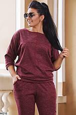 Женский брючный костюм демисезонный размеры:50,52,54,56, фото 2