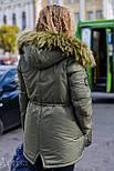 Женская зимняя парка на меху, фото 4