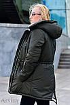 Женская зимняя парка курточка, фото 3