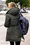 Женская зимняя парка курточка, фото 6
