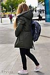 Женская зимняя парка курточка, фото 7
