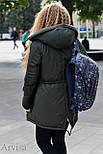Женская зимняя парка курточка, фото 8
