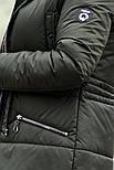 Женская парка куртка на меху (зимняя), фото 4