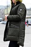Женская парка куртка на меху (зимняя), фото 5