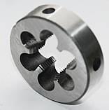 Плашка М-39х2,0; 9ХС, мелкий шаг (75/20 мм), фото 2