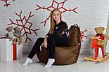 Бескаркасное Кресло мешок груша пуфик XL oxford, фото 6