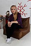 Бескаркасное Кресло мешок груша диван 60х80x90 (XL), фото 5