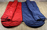 Туристический спальный мешок (до-2). Спальник туристический для похода весна и осень, фото 5