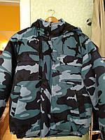 """Куртка  """"Синий город"""" камуфляж, фото 1"""