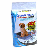 Пеленки для собак Croci с активированым углем 57х54см (упаковка 14шт.)