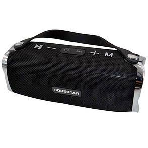 Портативная Bluetooth колонка Hopestar H24 (БЕЗ ВЫБОРА ЦВЕТА)  + ПОДАРОК: Настенный Фонарик с регулятором, фото 2