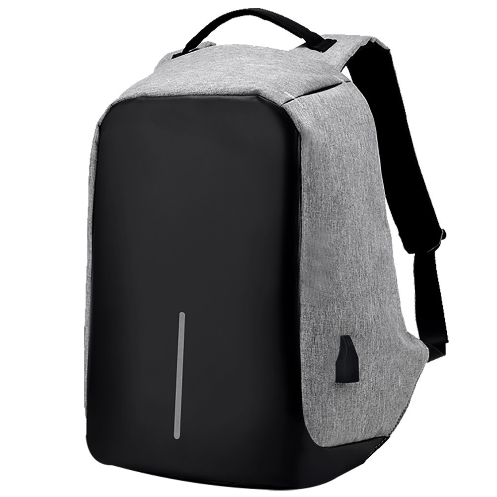 Рюкзак Bobby антивор для ноутбука. Портфель городской  СЕРЫЙ