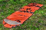 Тактический спальный мешок (до -4) спальник+компресионник для похода весна и осень, фото 2