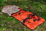 Тактический спальный мешок (до -4) спальник+компресионник для похода весна и осень, фото 3