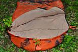 Тактический спальный мешок (до -4) спальник+компресионник для похода весна и осень, фото 5