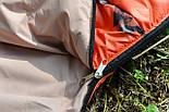Тактический спальный мешок (до -4) спальник+компресионник для похода весна и осень, фото 6