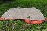 Тактический спальный мешок (до -4) спальник+компресионник для похода весна и осень, фото 7