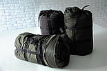 Спальный мешок кокон (флис, до -15) спальник туристический для похода, для холодной погоды!, фото 2