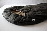 Спальный мешок кокон (флис, до -15) спальник туристический для похода, для холодной погоды!, фото 4