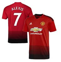 Футбольная форма детская Манчестер Юнайтед красная Alexis (Алексис) (сезон 2018-2019), фото 1