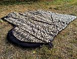 Армейский спальный мешок (до -20) спальник туристический для похода, для холодной погоды!, фото 7