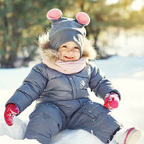Детские комбинезоны, куртки Зима