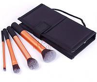 Набор кистей для макияжа, реплика Real Techniques by Samantha Chapman,4 кисточки + футляр