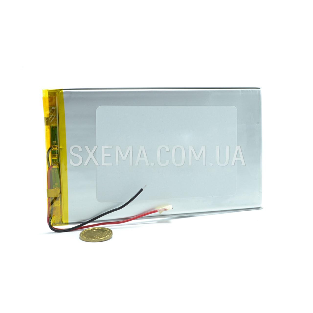 Аккумулятор универсальный 0596108 (Li-ion 3.7В 7000мА·ч), (108*96*5 мм)
