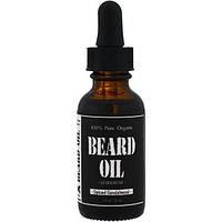 Leven Rose, 100% чистое органическое масло для бороды, с ароматом сандалового дерева, 1 ж. унц. (30 мл)