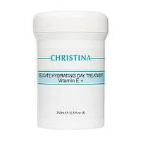 Дневной крем Christina Delicate Hydrating Day Treatment + Vitamin E 250 мл