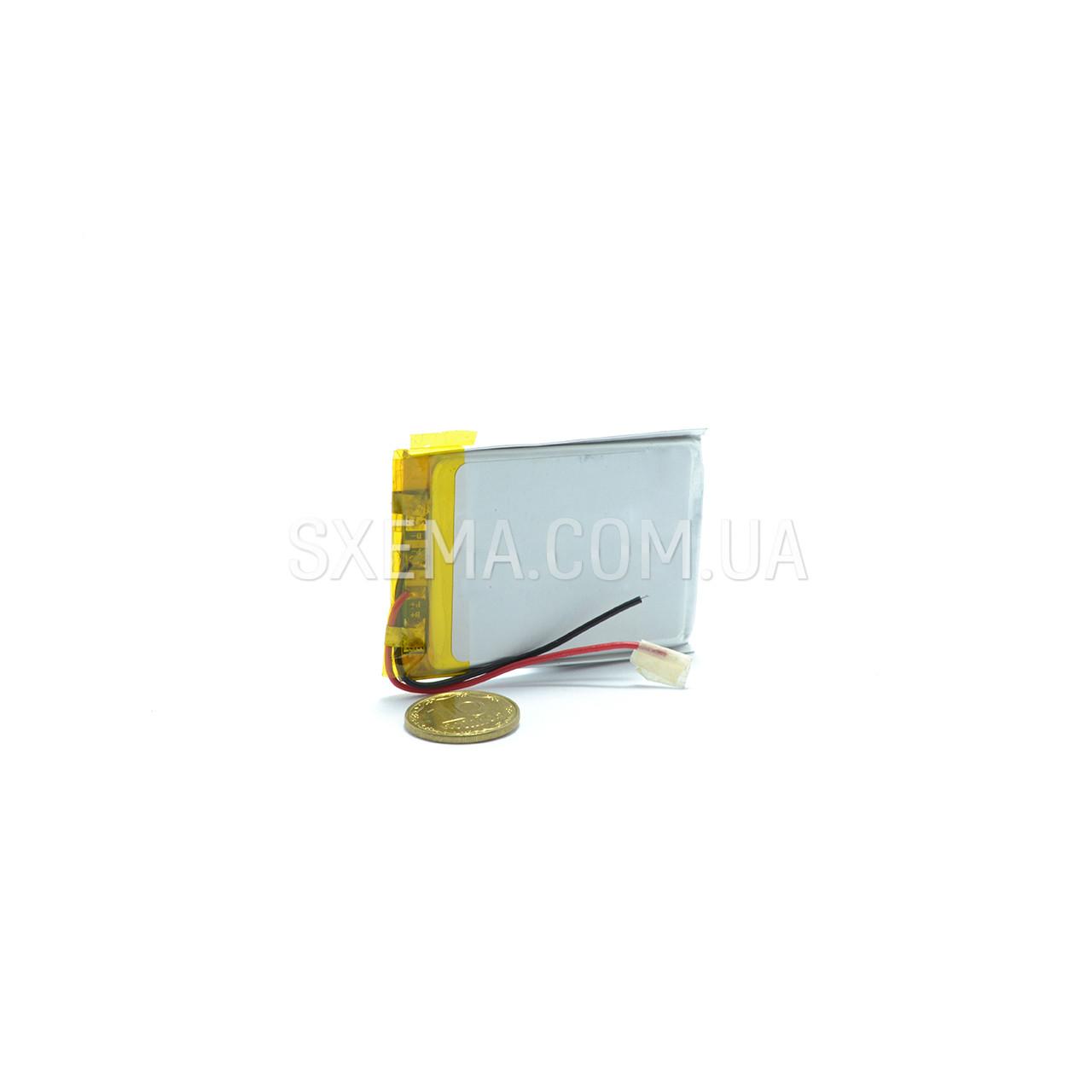 Аккумулятор универсальный 302040 (Li-ion 3.7В 450мА·ч), (20*30*4 мм)