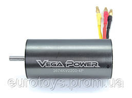 Sensorless Brushless Motor 11T 3674KV2370 5.0 shaft Banana PlugTiti. Color