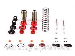 Задние амортизаторы в разборе LC Racing 2шт для моделей 1/14 металл (LC-6021)