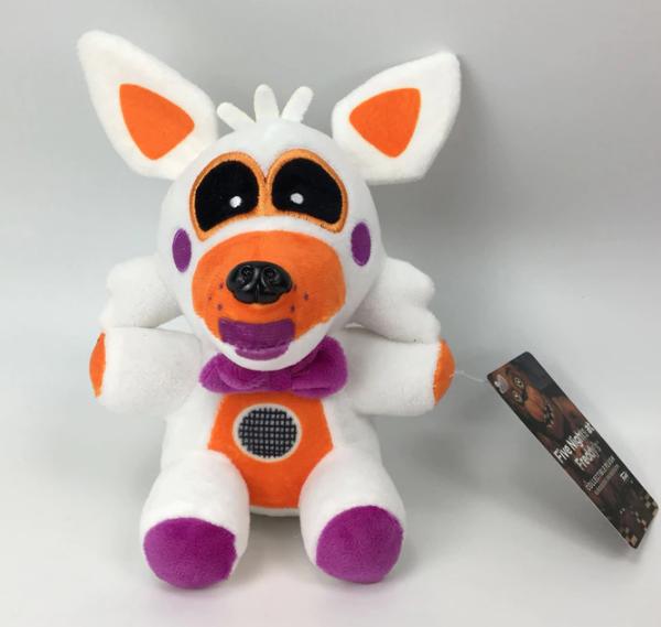 Оригинальная мягкая игрушка Funko,  22 см. Лолбит 5 ночей с Фредди Аниматроники. Фнаф