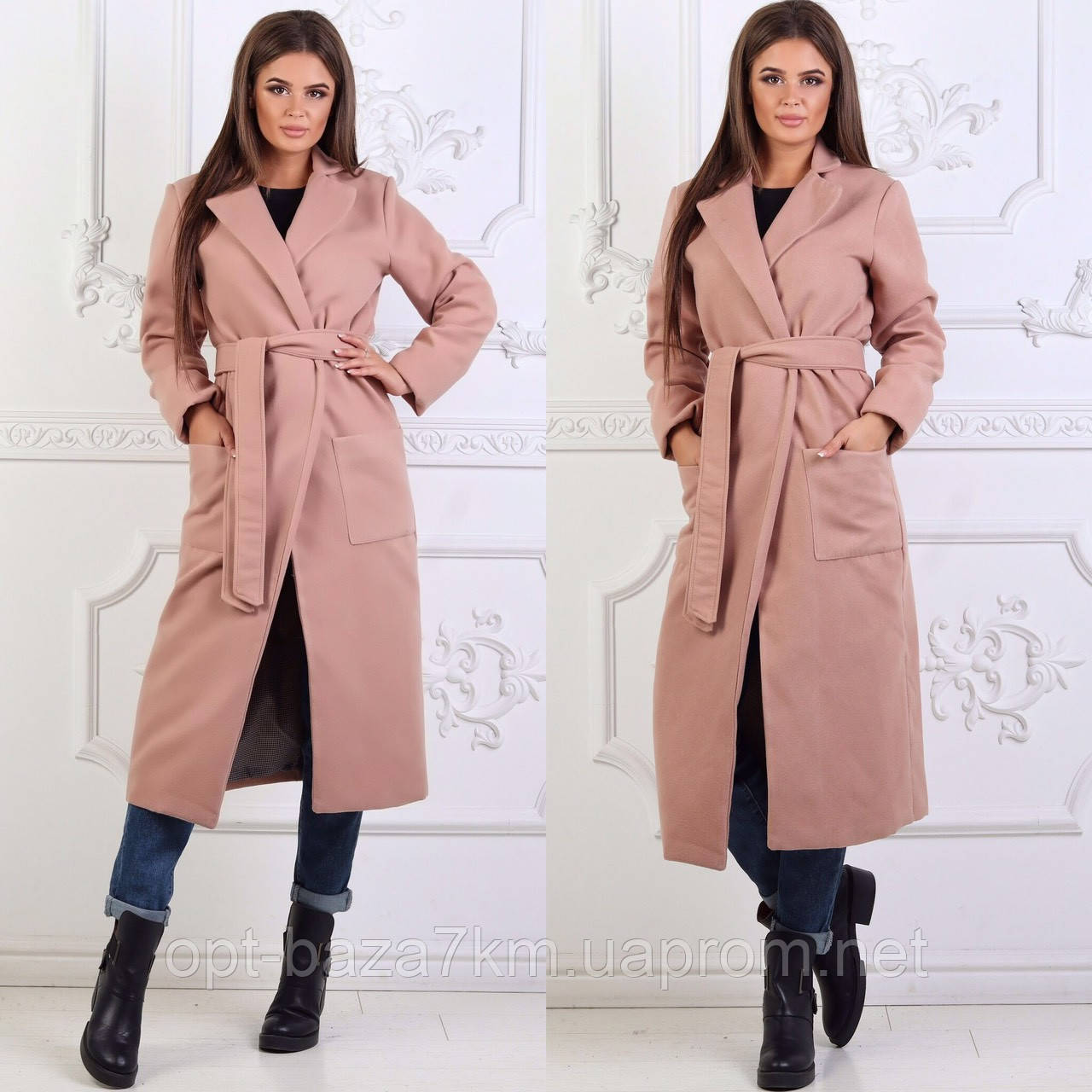 89184307fbd Пальто женское кашемировое на подкладке (р.р. 42 - 48) Украина