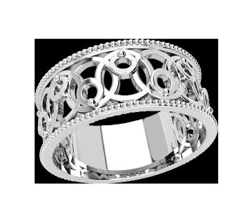 Кольцо  женское серебряное Eternity 21164