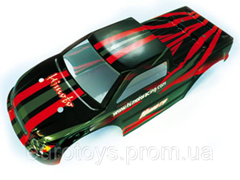 31801 1:10 Car Truck Body Red 1P