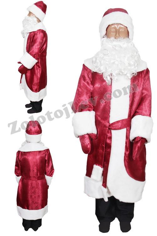 Костюм Деда Мороза для мальчика рост 128