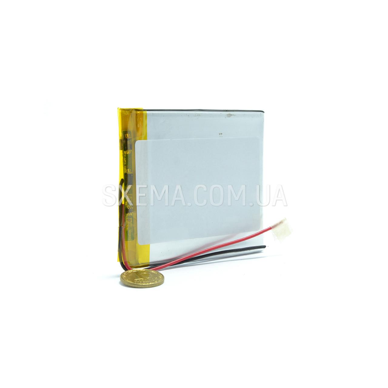 Аккумулятор универсальный 306070   (Li-ion 3.7В 2300мА·ч), (70*60*3 мм)