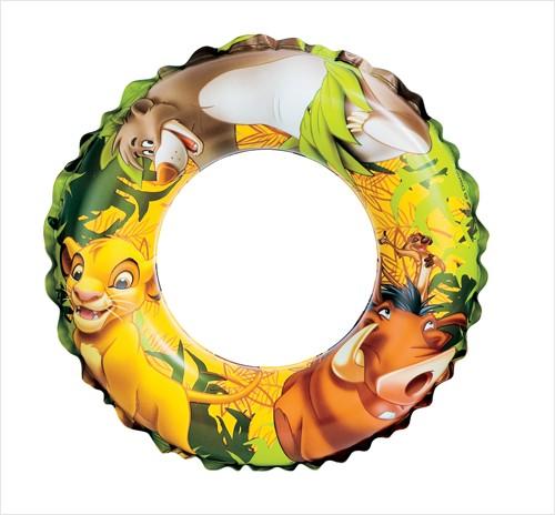 Детский надувной круг Intex 58225 Король Лев (51см)
