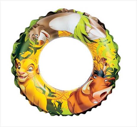 Детский надувной круг Intex 58225 Король Лев (51см), фото 2