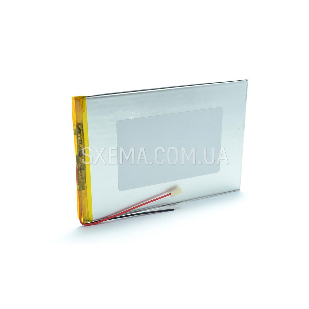 Аккумулятор универсальный 3090120   (Li-ion 3.7В 6000мА·ч), (120*90*3 мм)