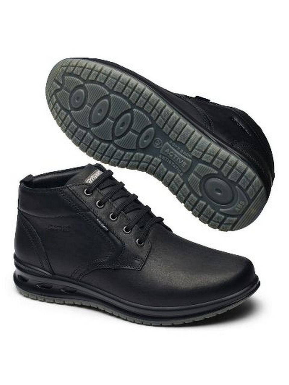 Ботинки Grisport 43015 чер. made in Italy