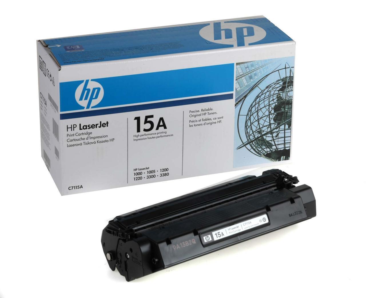 Заправка картриджа для принтера  C7115A  (15A)