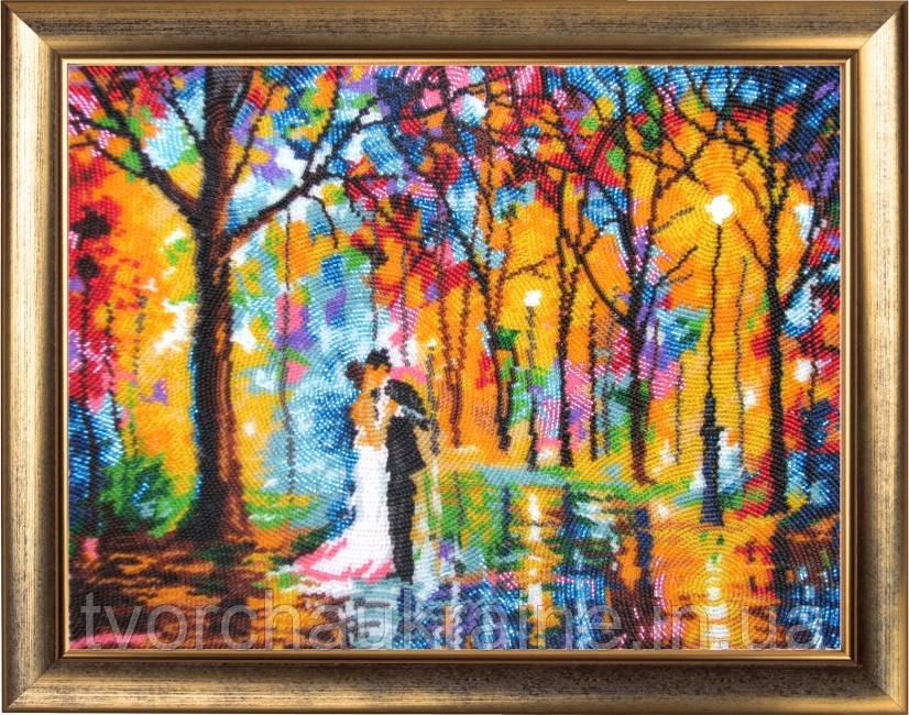 """Набор для вышивки бисером """"Свадьба под дождем"""" (по картине Л. Афремова)"""