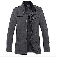 Мужское стильное пальто. Модель 008