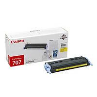 Заправка картриджа Canon 707 Yellow для принтера LBР5000, LBР5100